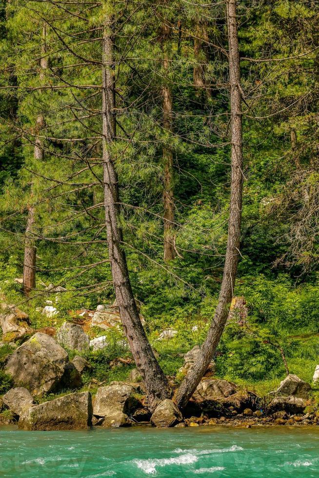 Kumrat Valley Beautiful Landscape Mountain View foto