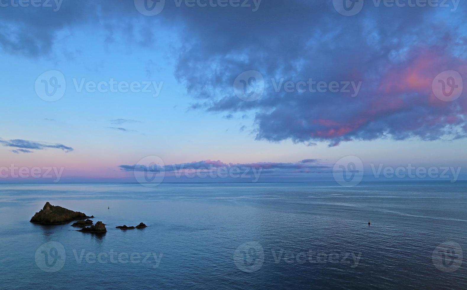 céu da praia foto