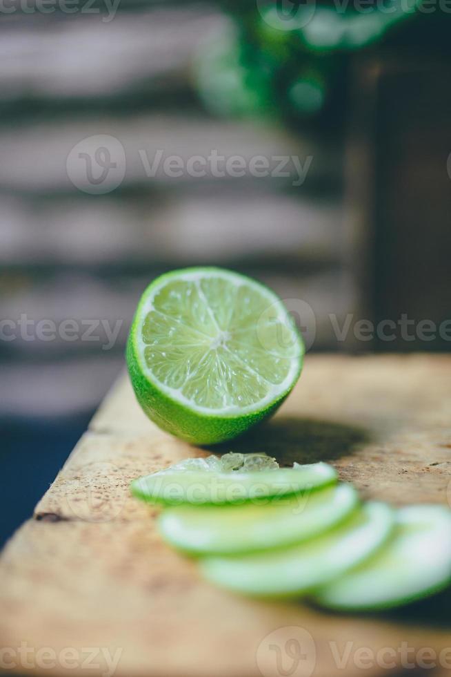 smoothie de suco verde foto