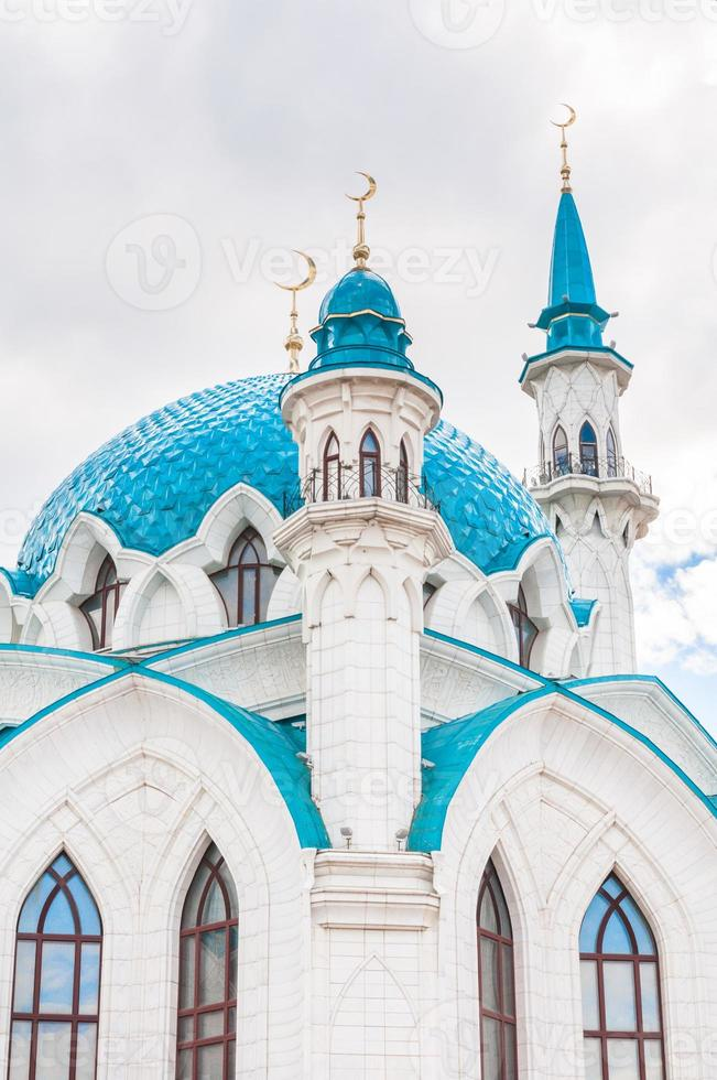 a mesquita kul sharif em kazan kremlin, tartaristão, rússia foto