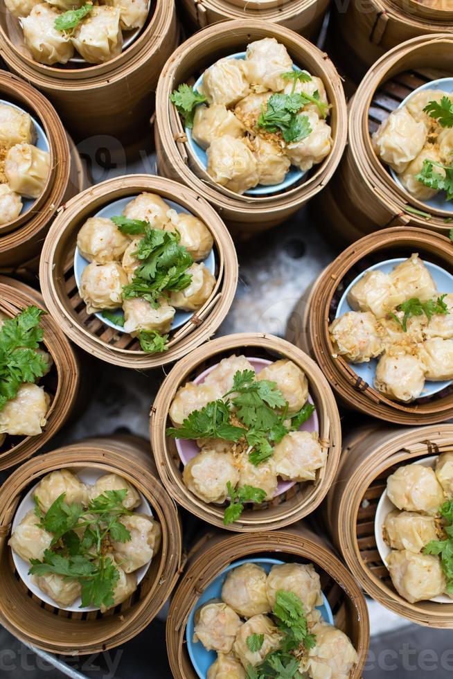 bolinho de massa chinês foto