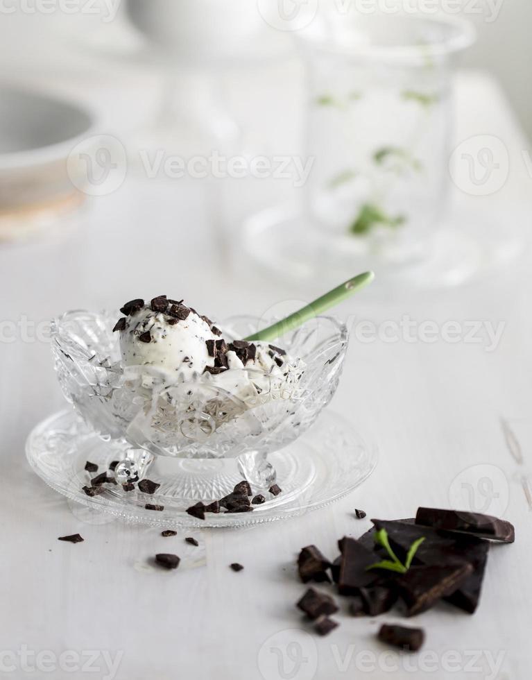 sorvete stracciatella foto