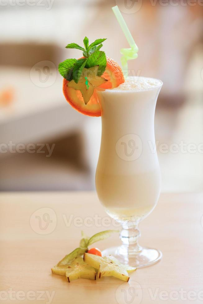 coquetel de leite foto