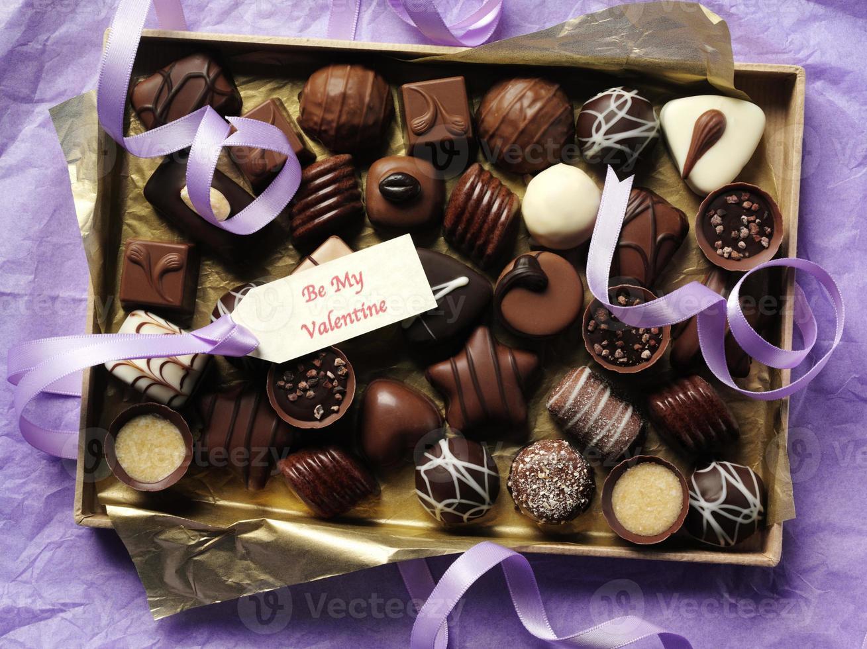 chocolates para dia dos namorados foto