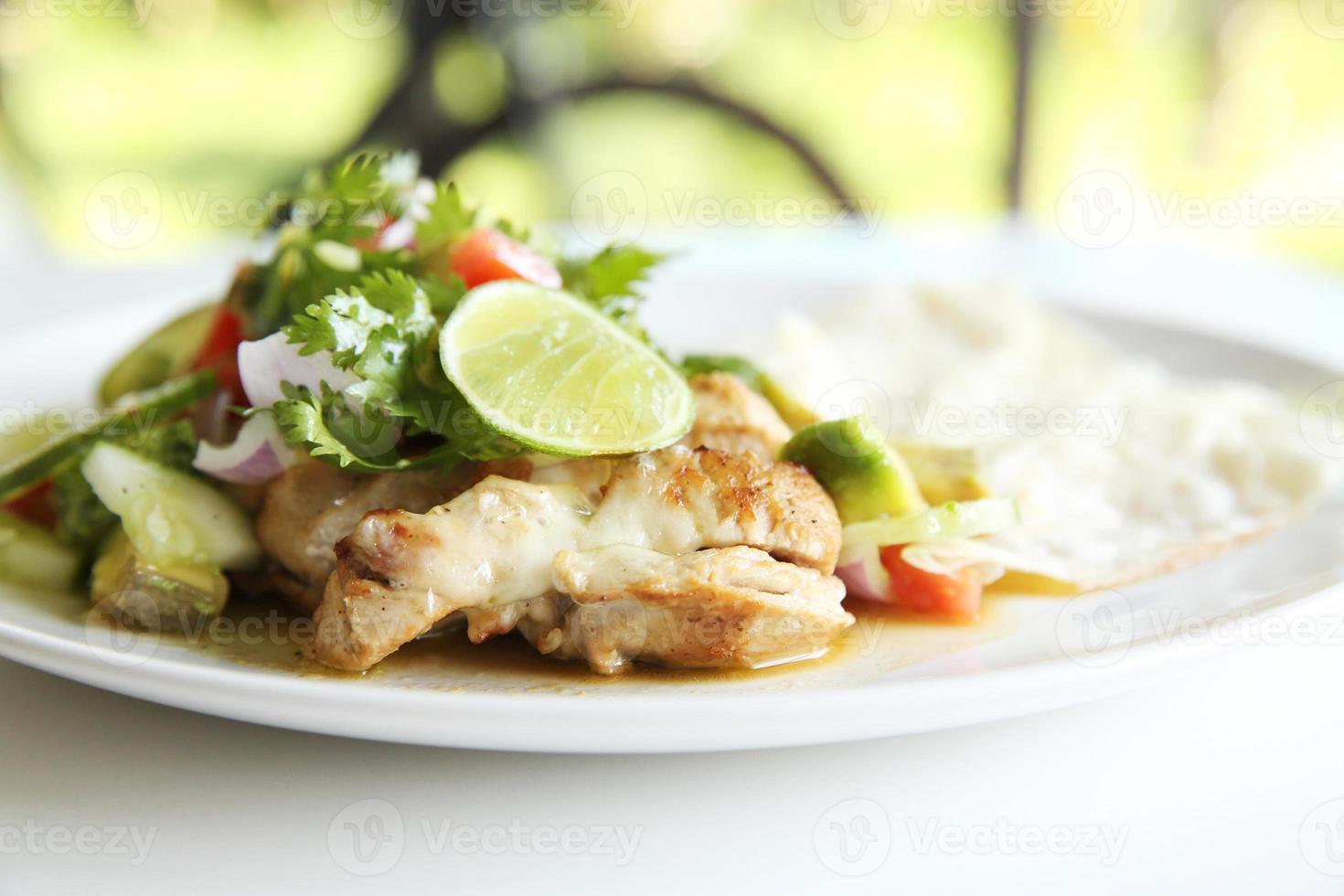 Burrito de galinha foto
