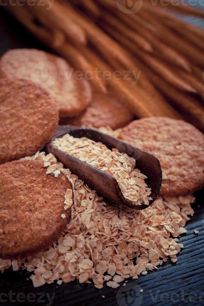 biscoito de aveia foto