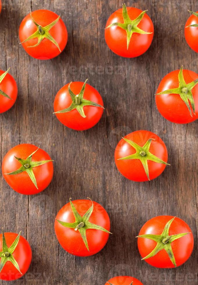 tomate cereja maduro foto