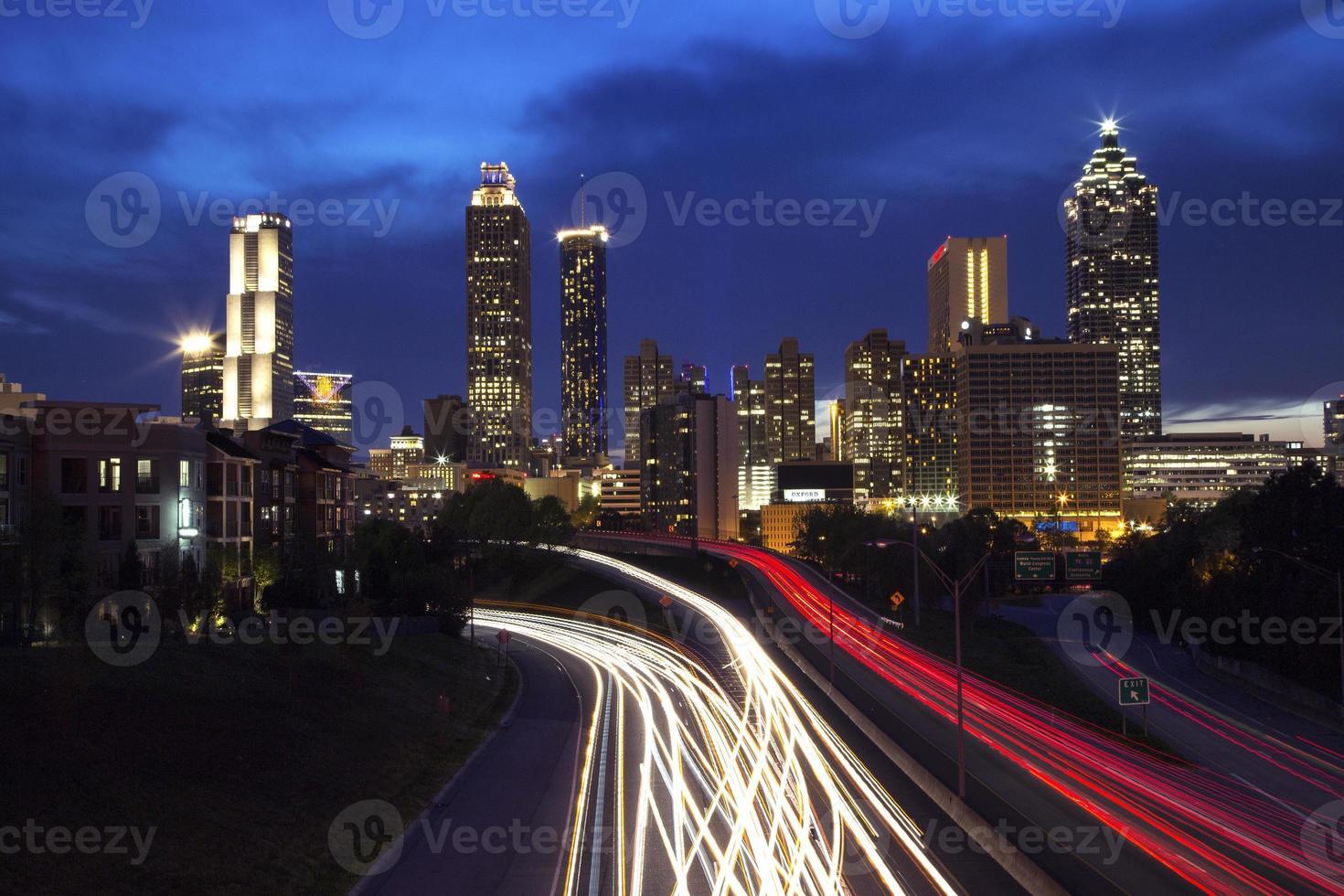 skyline de atlanta foto