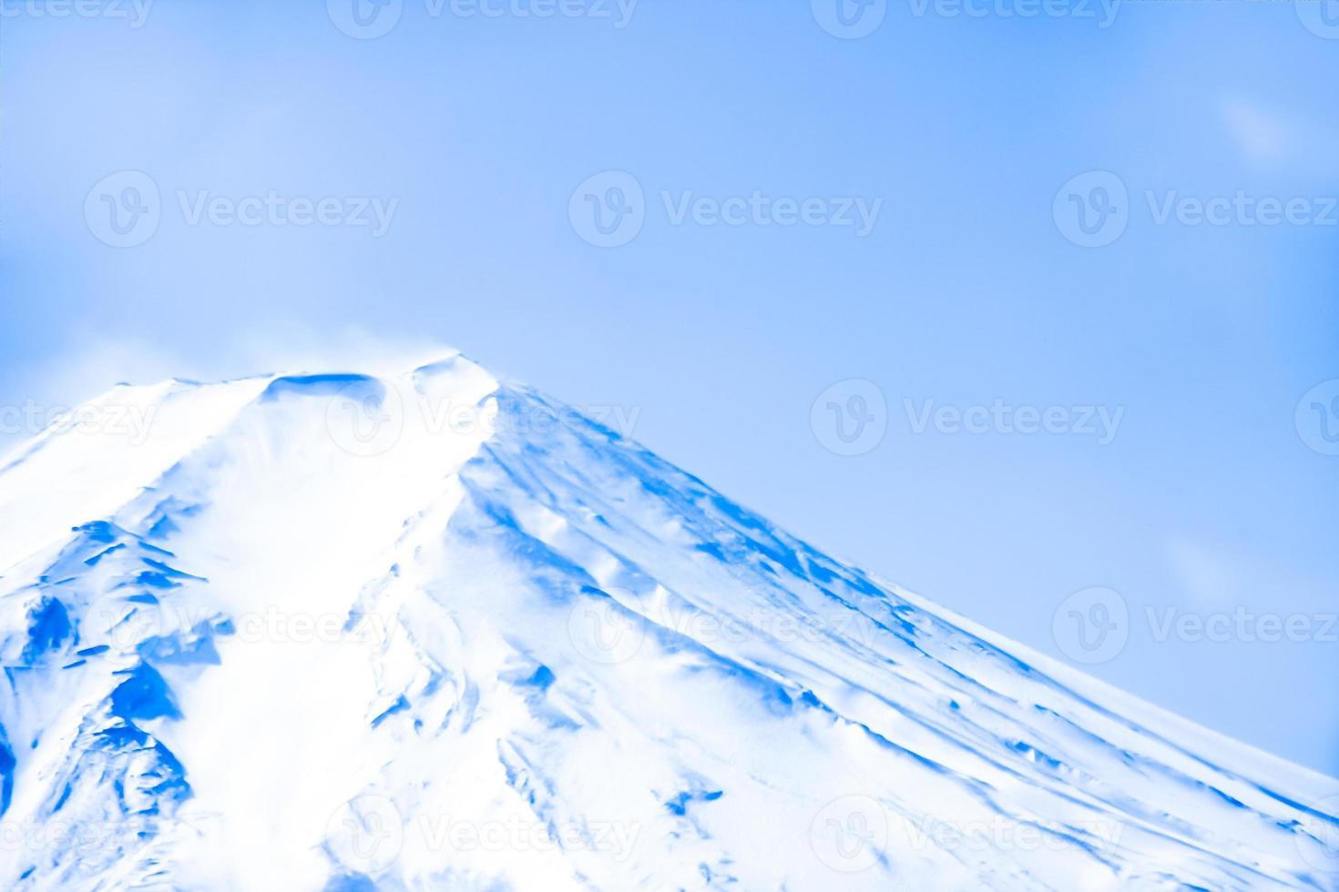montanha fuji foto