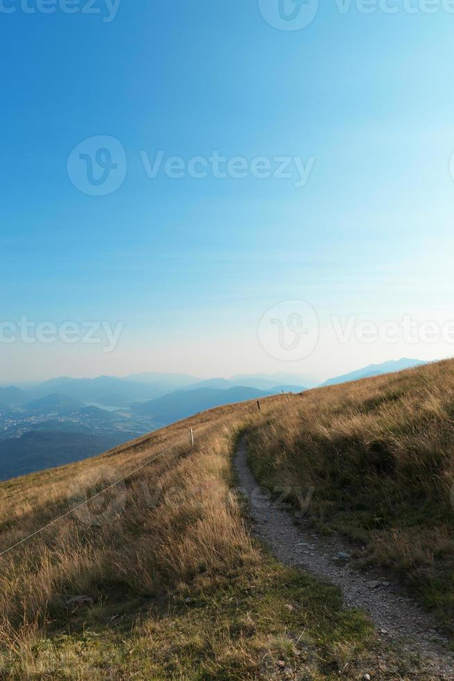 prados de montanha foto