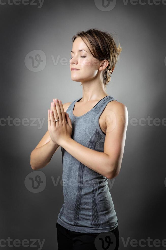 poses de ioga foto