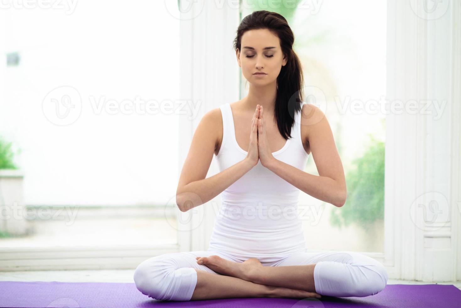 meditação yoga foto