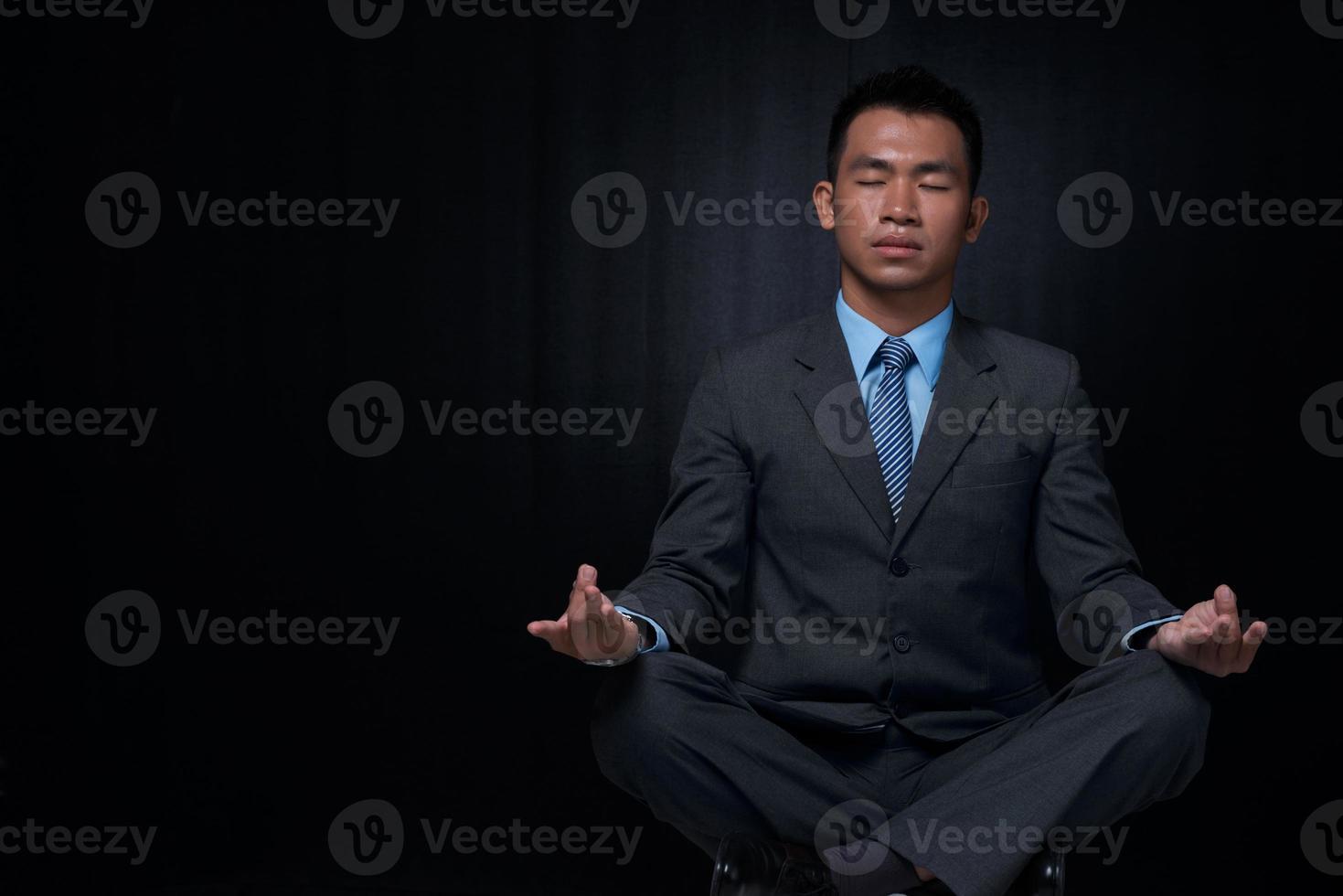 relaxamento de ioga foto