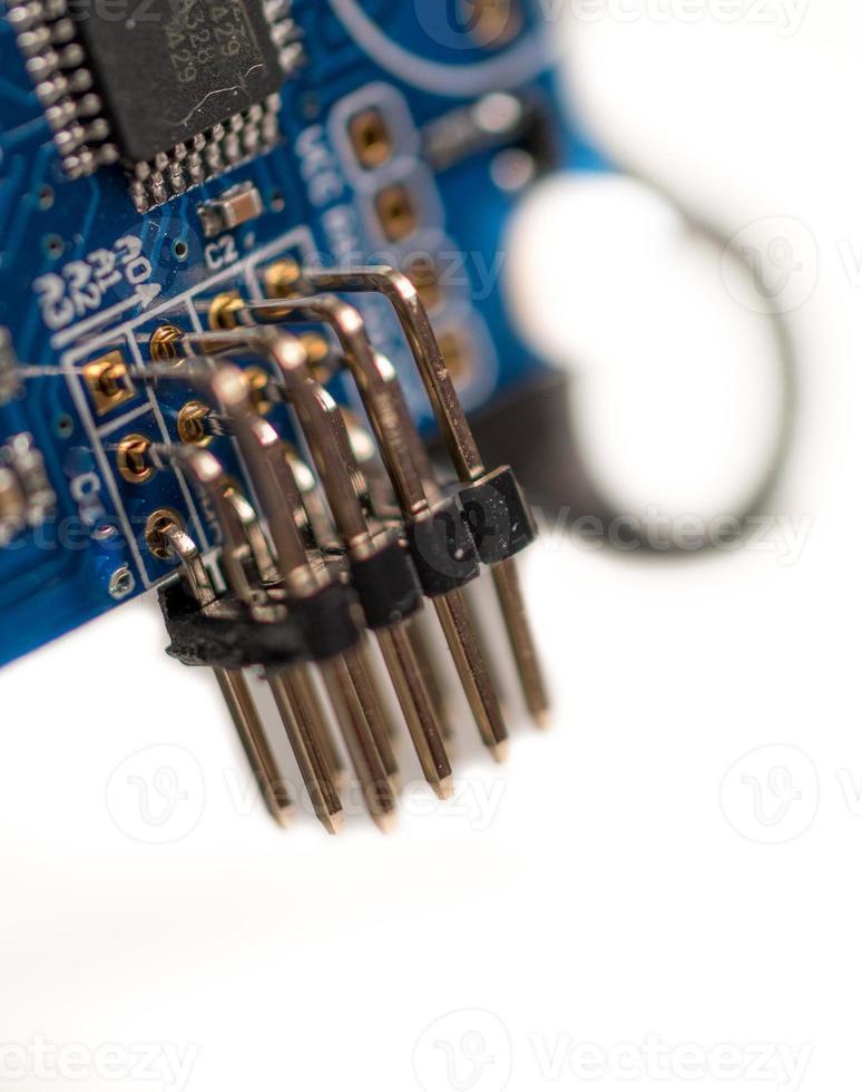 placa de microchip foto