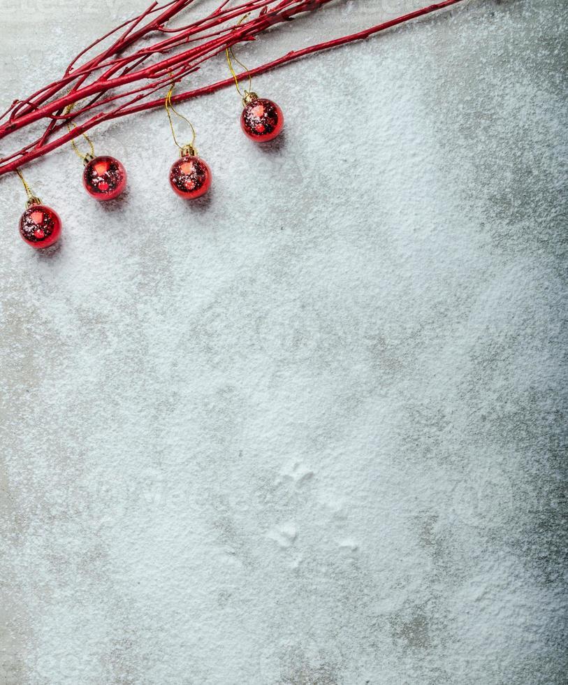 placa nevado, decorações de natal foto