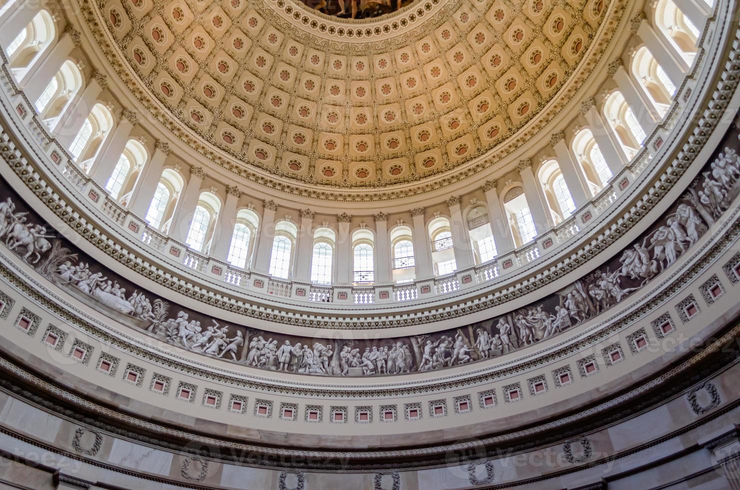 rotunda do capitólio americano foto