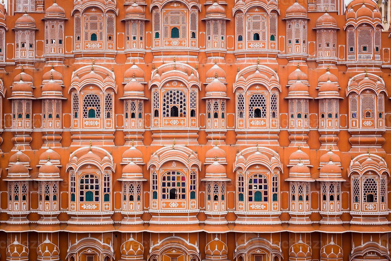 Palácio hawa mahal em jaipur foto