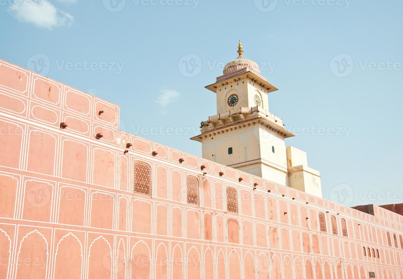 templo de govind devji no palácio da cidade foto
