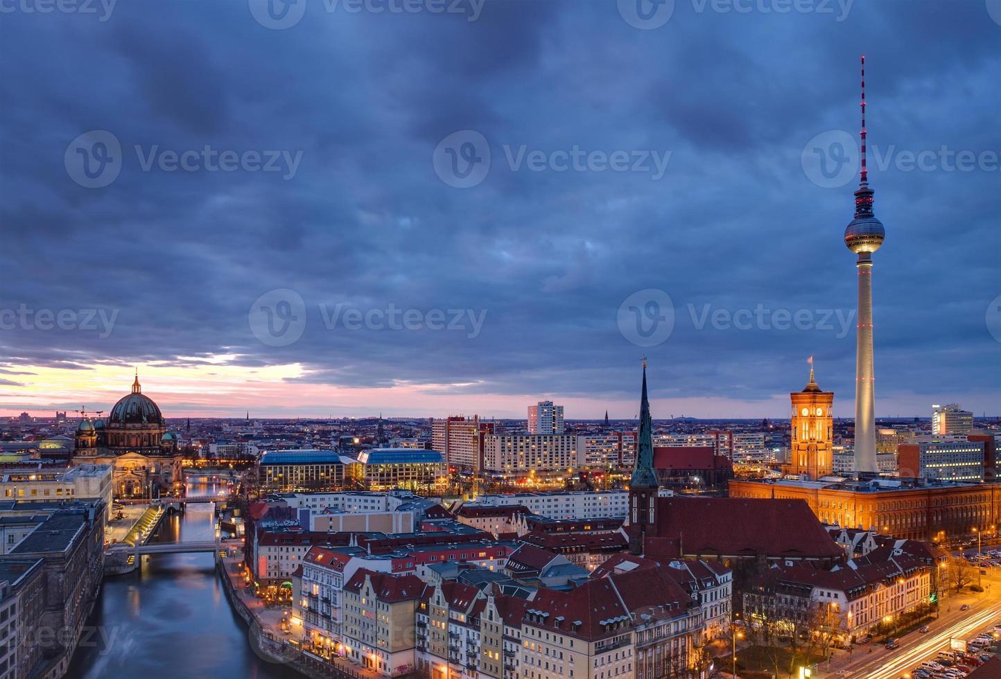 Berlim ao amanhecer foto