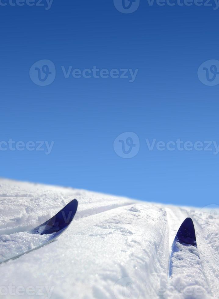 esqui cross country foto