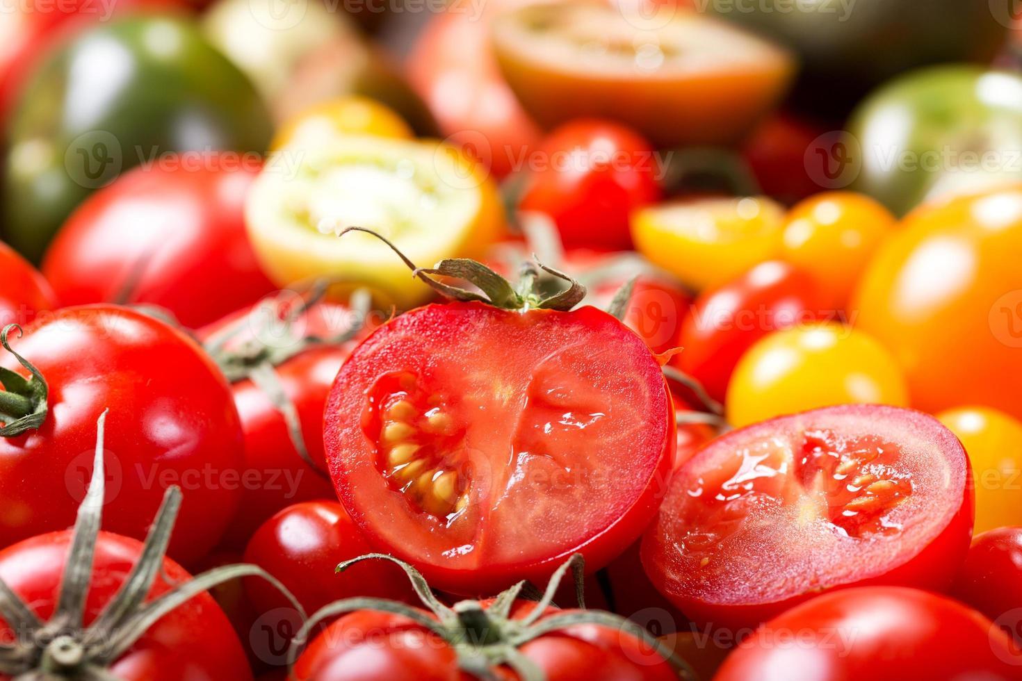 tomates coloridos foto