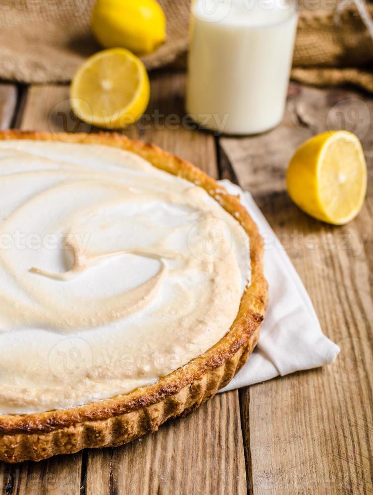 cheesecake de limão delicioso foto