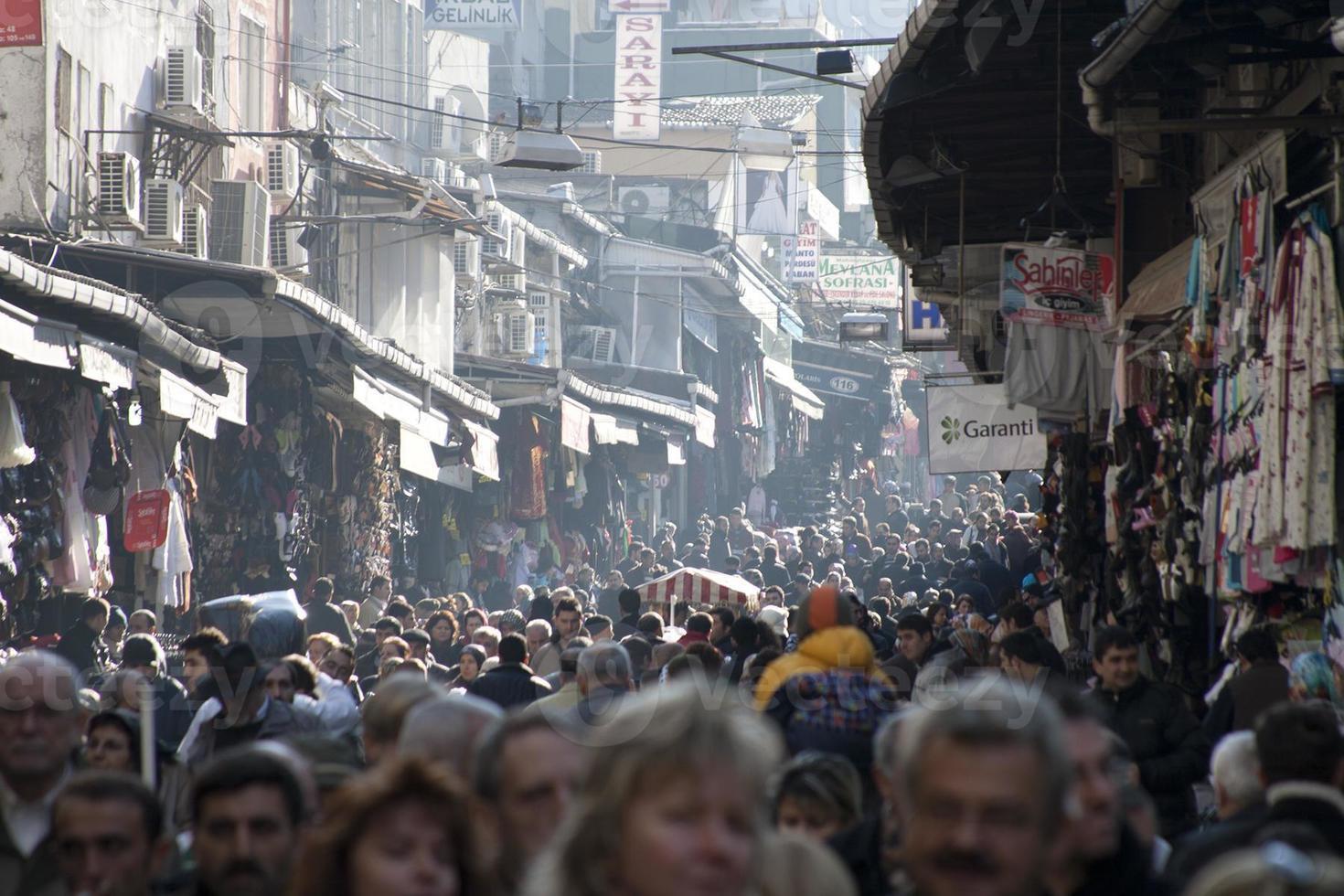 grande bazar em istambul foto