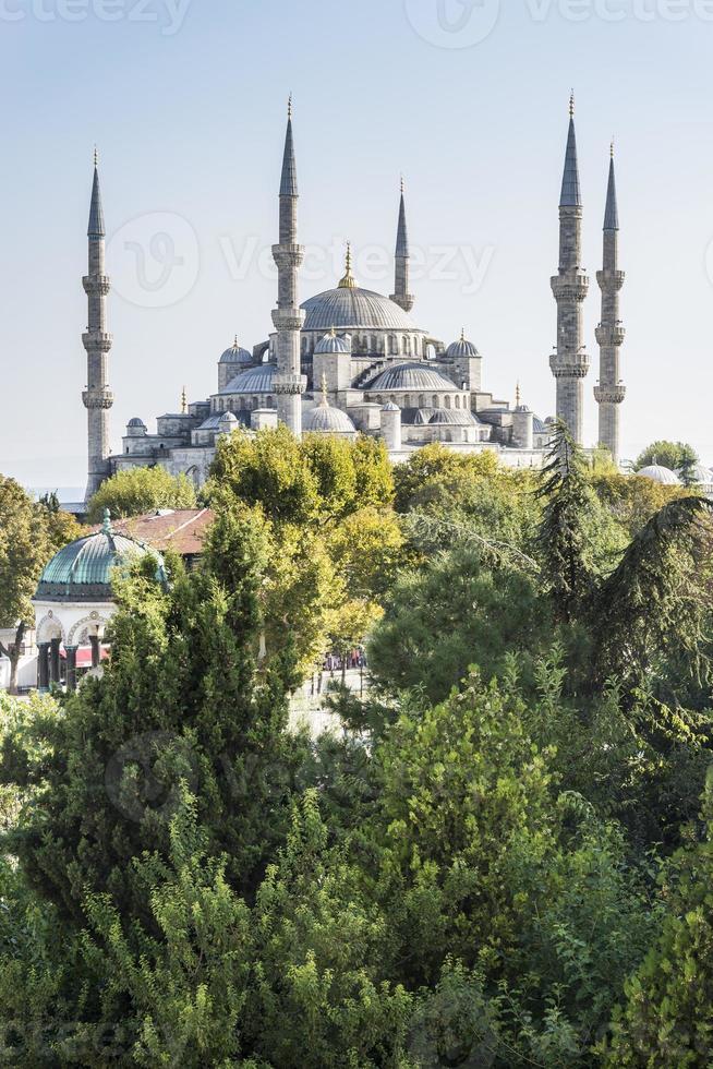 mesquita azul, istambul turquia foto