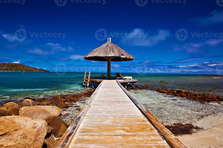 paraíso da praia foto