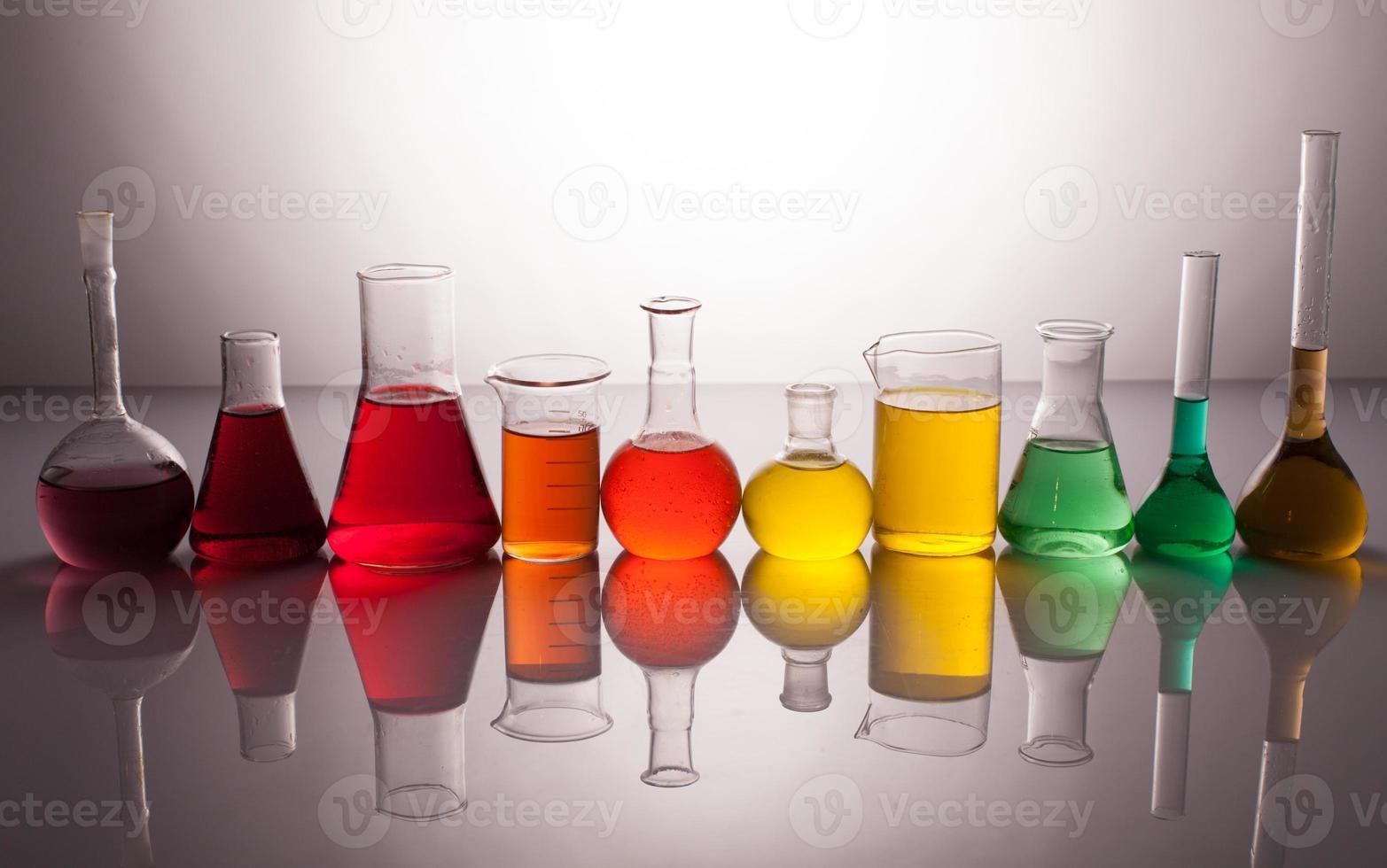 vidro de laboratório foto