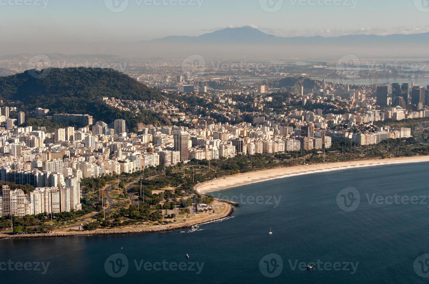 praia do flamengo no rio de janeiro, brasil foto