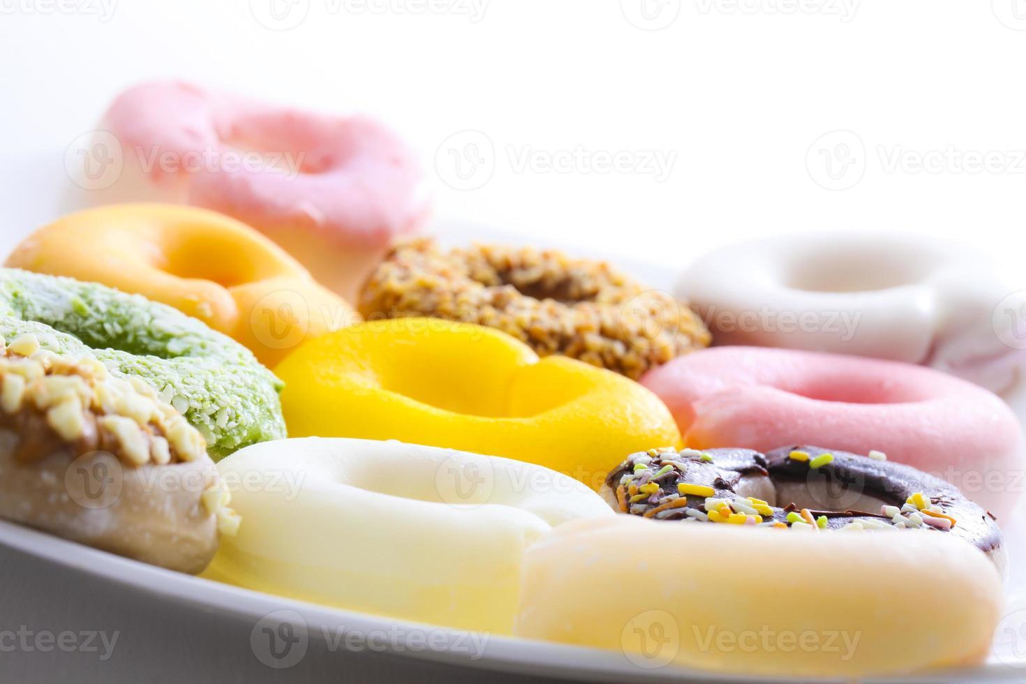 rosquinha de sobremesa foto