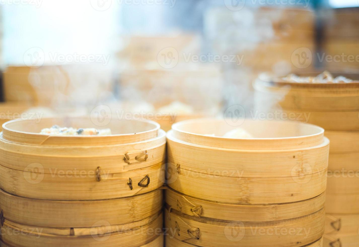 deliciosa comida chinesa foto
