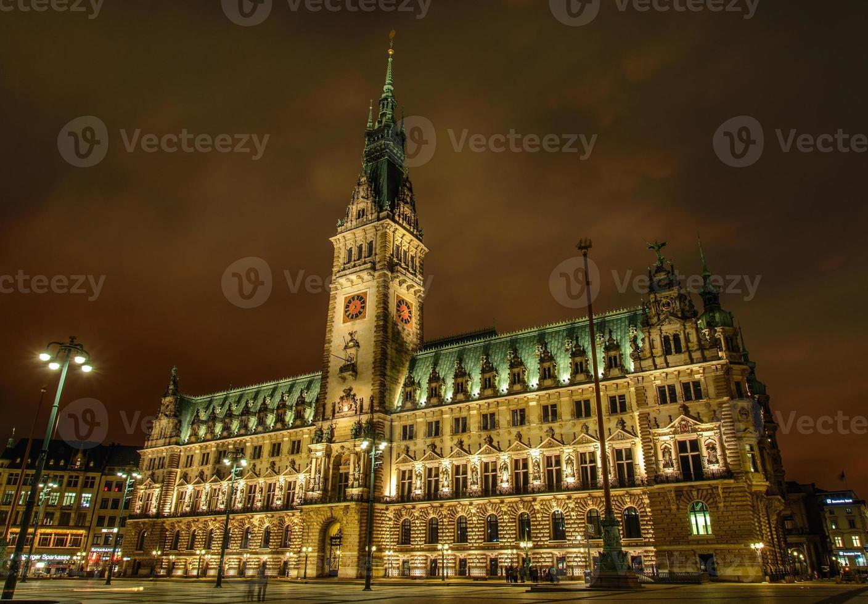 Hamburgo Rathaus foto