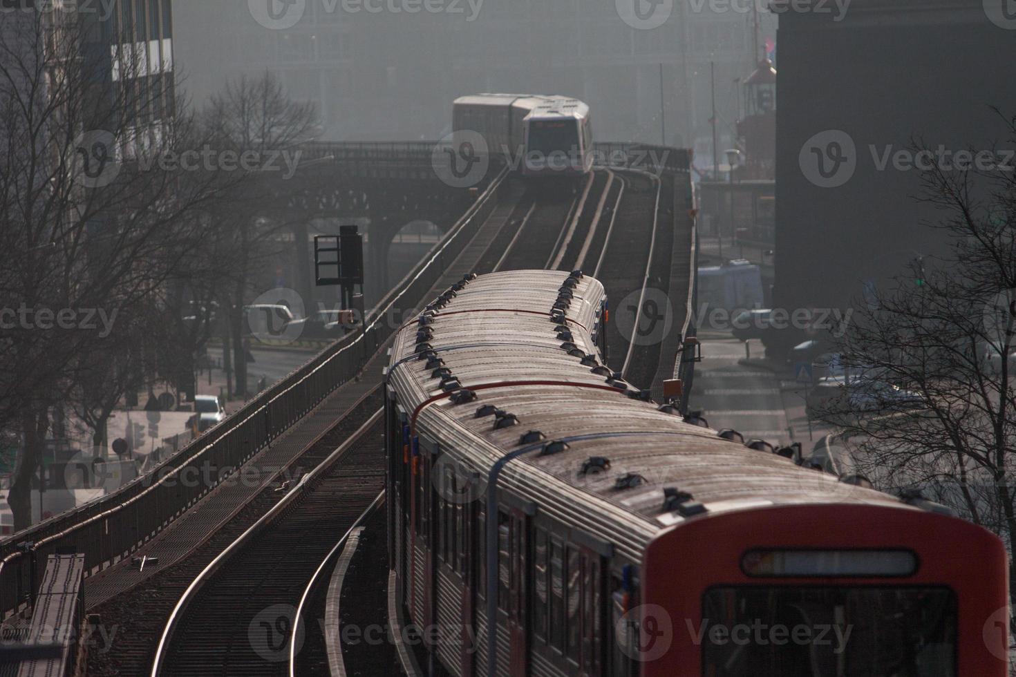 metrô em hamburgo foto