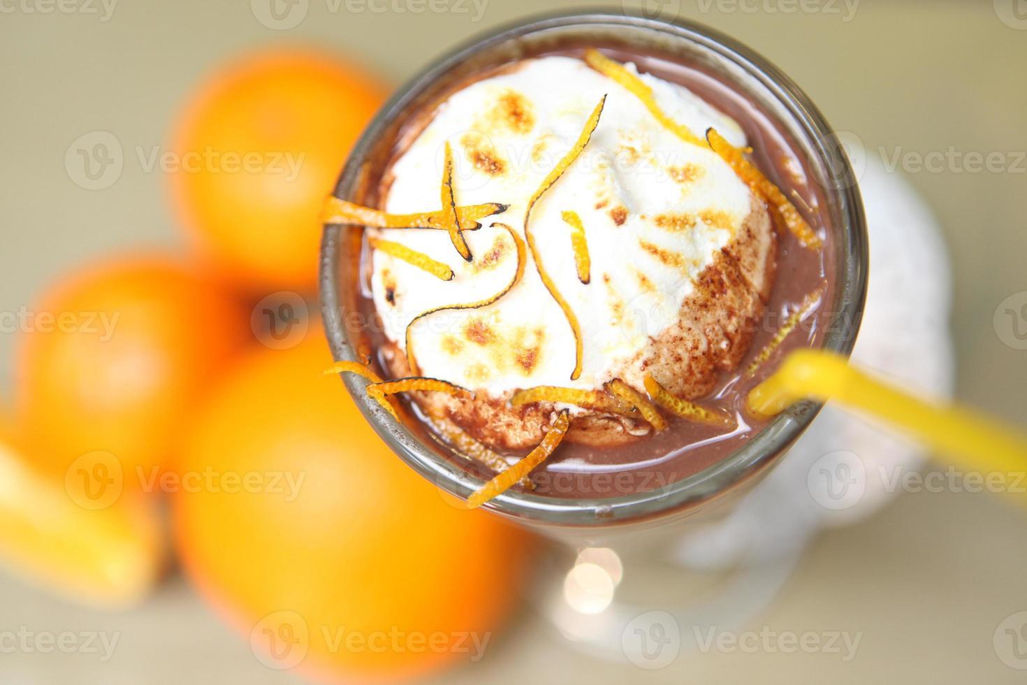 milk-shake caseiro foto
