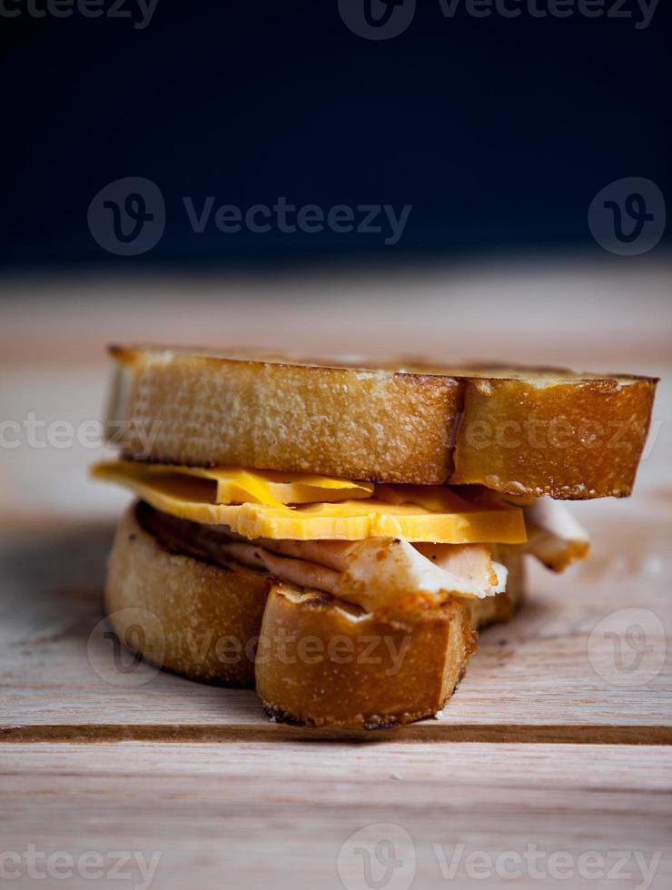 sandwitch torrado foto