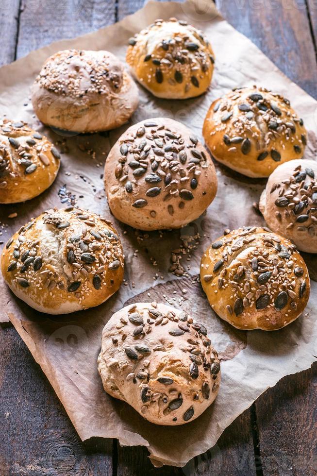 pães caseiros foto