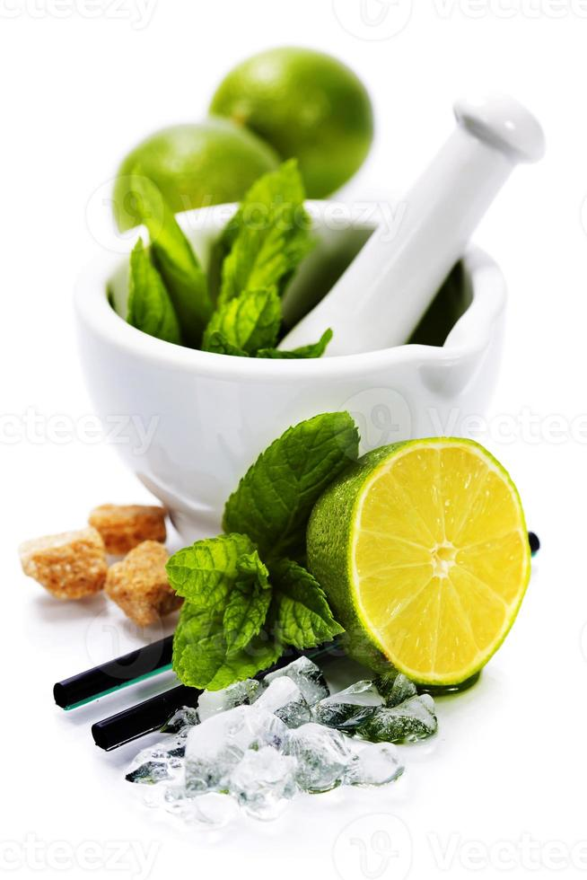 ingredientes de coquetel foto