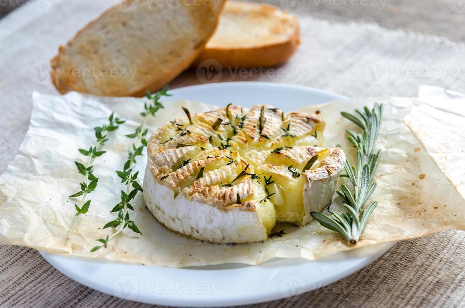 fondue de queijo camembert foto