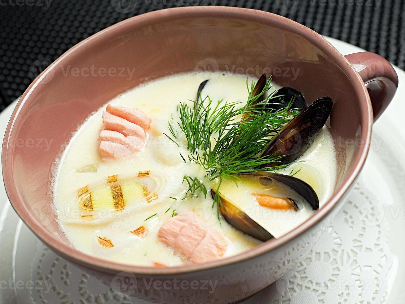 sopa, comida japonesa foto
