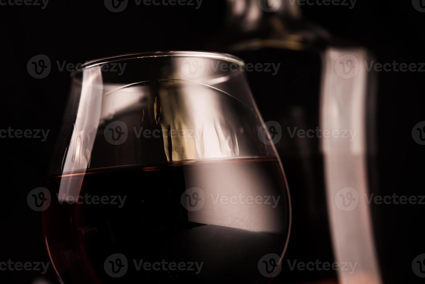 copo de conhaque foto