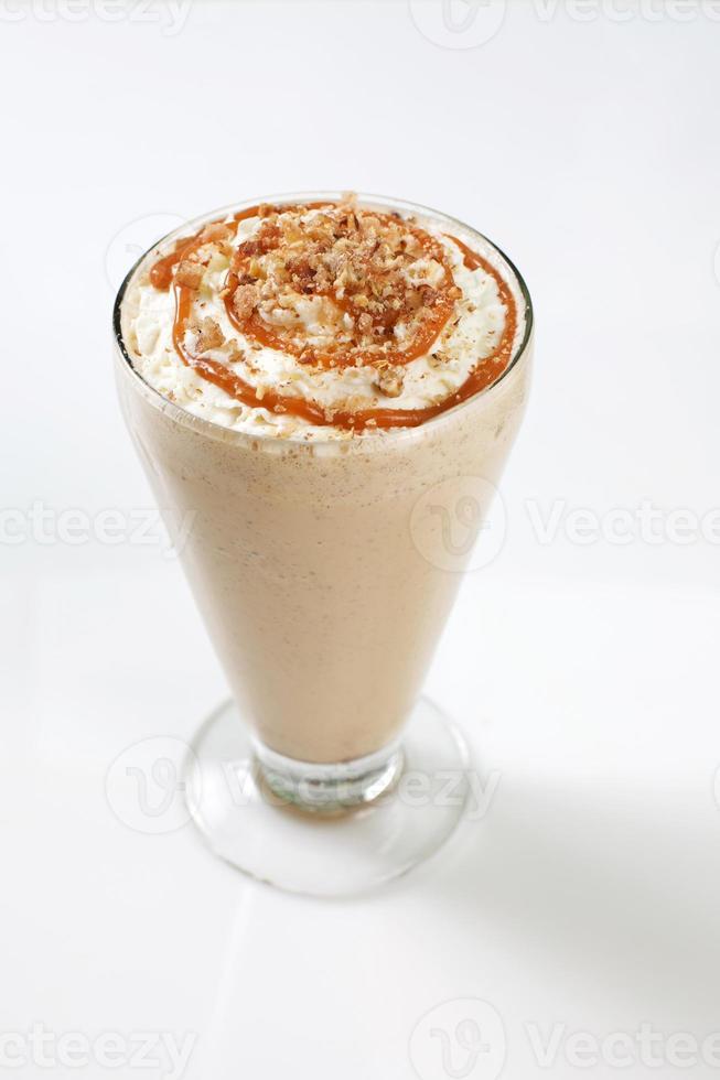 shake de malte de chocolate foto