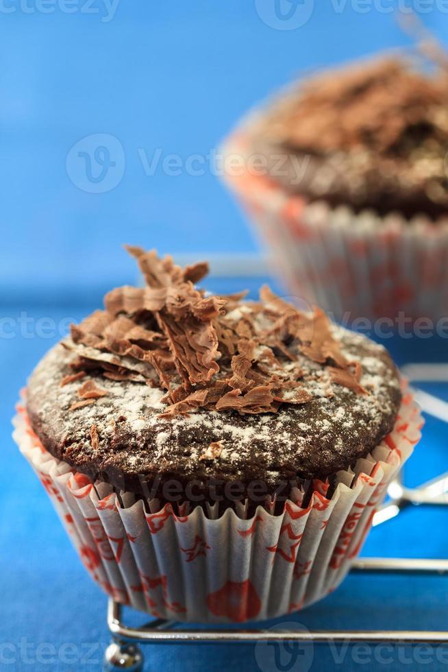 bolos de chocolate foto