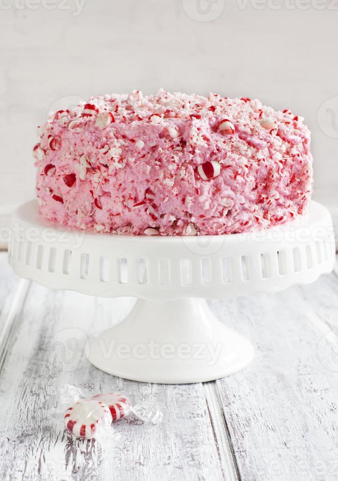 bolo de sorvete de menta foto
