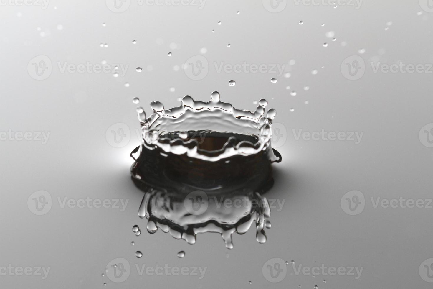 respingos de água foto