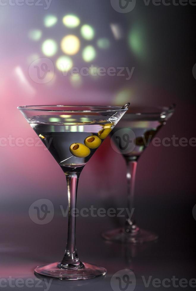 coquetel de martini foto