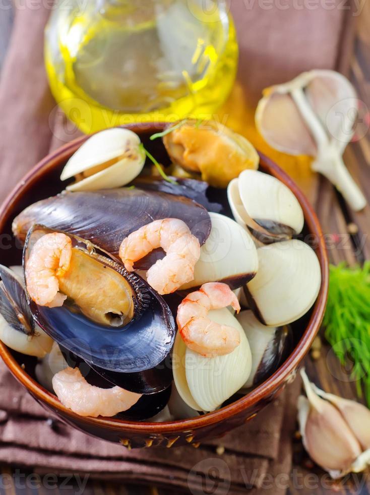 frutos do mar foto