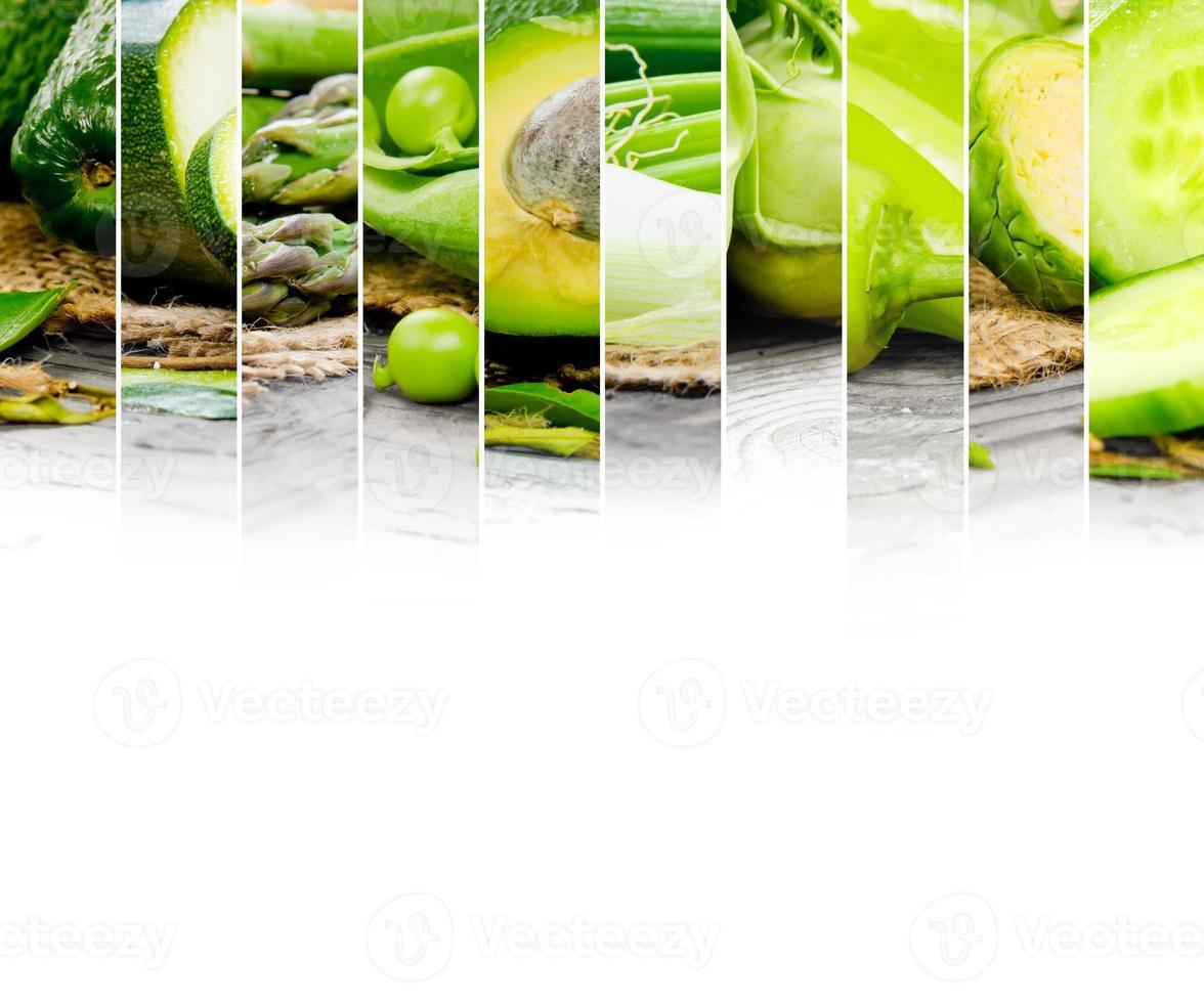 mistura de vegetais foto