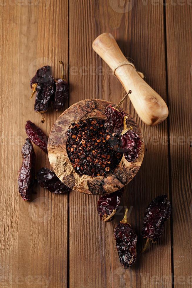 chipotle - pimentão defumado jalapeno foto